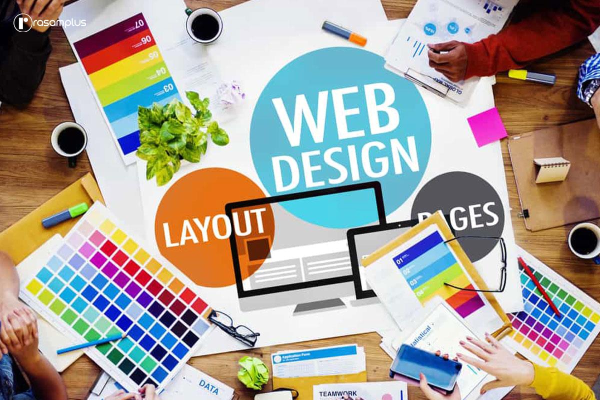 موارد قابل توجه در انتخاب رنگ طراحی وب سایت