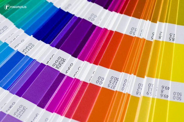 انتخاب رنگ در طراحی وب سایت