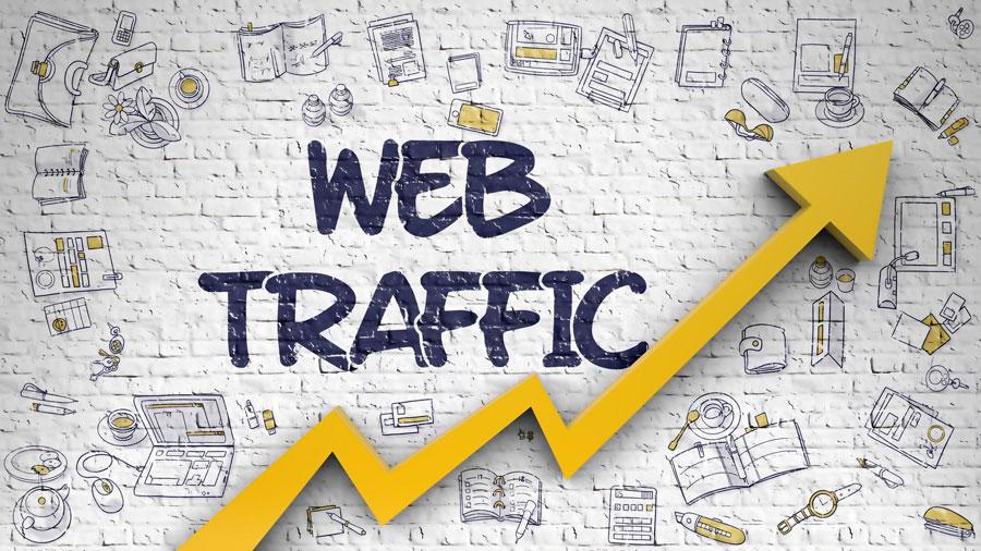 ترافیک وب سایت (Website Traffic)